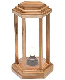 CLOSEOUT! Zuo Latter Teak Large Floor Lamp