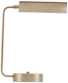 Madison Park Signature Bringham Antique Brass Desk Lamp