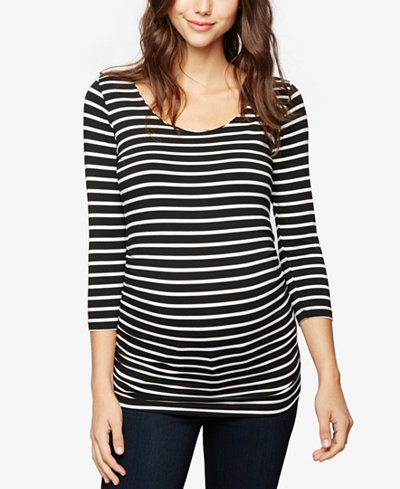 A Pea In The Pod Maternity Ruched Tunic