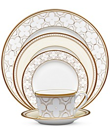 Trefolio Gold Dinnerware Collection