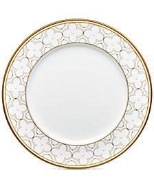 Noritake Trefolio Gold Dinner Plate