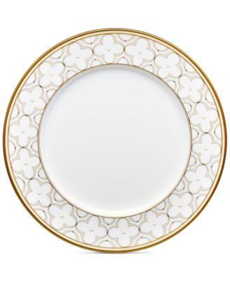 main image  sc 1 st  Macyu0027s & Noritake Trefolio Gold Dinner Plate - Fine China - Macyu0027s