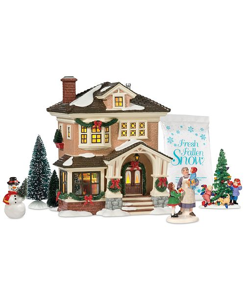 product details create your own festive holiday display with the snow village christmas