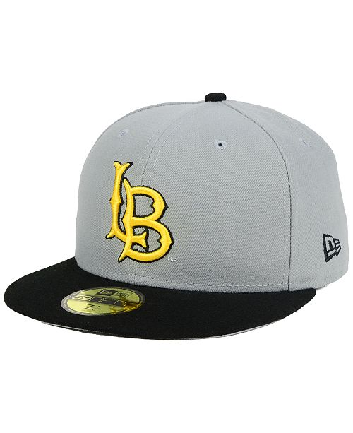 33e58713e01 New Era Long Beach State 49ers Grayson 59FIFTY Fitted Cap - Sports ...