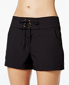 All Aboard Drawstring Board Shorts