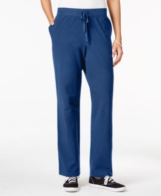Image of Karen Scott Drawstring Lounge Pants