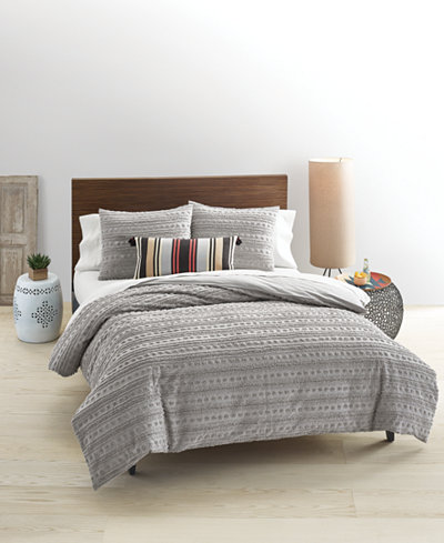 Whim By Martha Stewart Collection On The Dot Smoke Stack 3 Pc King Comforter