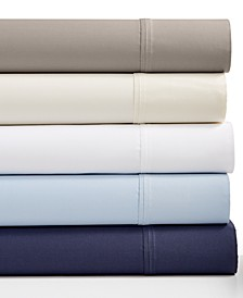 Solid Organic 4-Pc. Sheet Sets, 500 Thread Count GOTS Certified Cotton