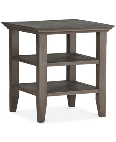 Avery Square End Table, Quick Ship