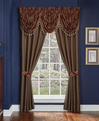 "CLOSEOUT! Sebastian 82"" x 84"" Pole Top Window Drapery"