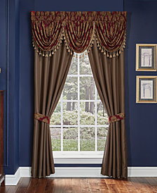 "Croscill Sebastian 82"" x 84"" Pole Top Window Drapery"