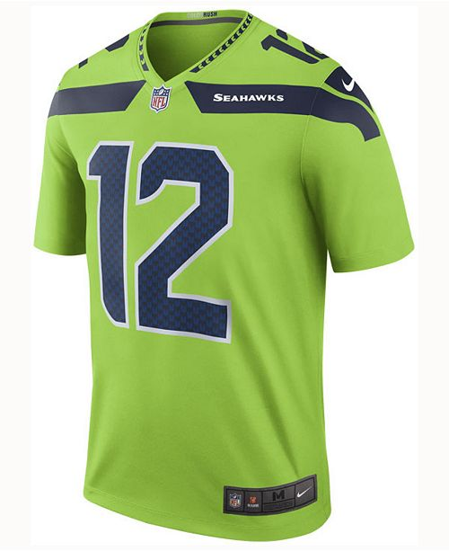 huge discount 0c7ba e5b29 Nike Men's 12th Man Seattle Seahawks Legend Color Rush ...