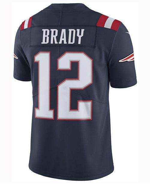 Nike Men's Tom Brady New England Patriots Limited Color Rush Jersey