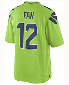 Nike Men's 12th Fan Seattle Seahawks Limited Color Rush Jersey