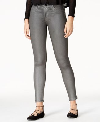 Hudson Jeans Nico Mystic Silver Wash Skinny Jeans