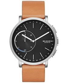 Hagen Smart Watch with Tan Leather Strap 42mm SKT1104