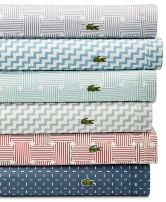 Lacoste Home Lacoste Printed Cotton Percale Pair Of King