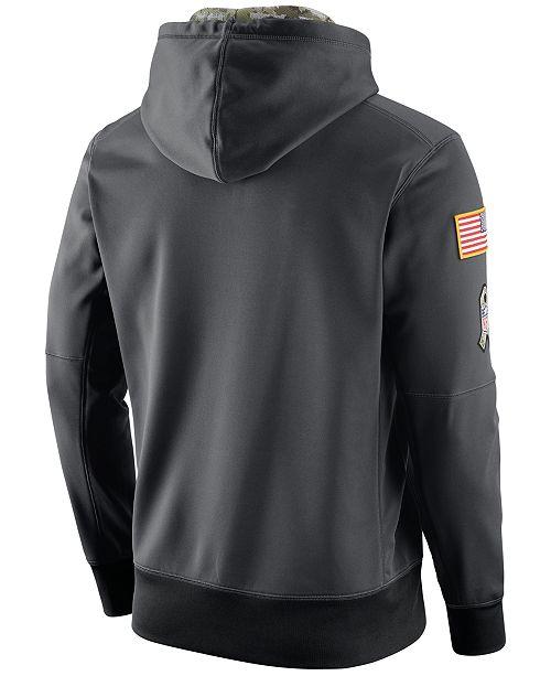 4f41b52b0 Nike Men's Baltimore Ravens Salute to Service Hoodie & Reviews ...