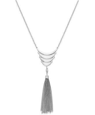 INC International Concepts Long Tassel Necklace, Only at Macy's