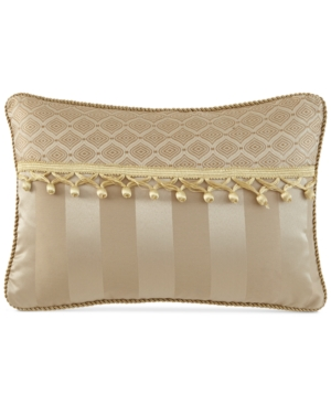 "Image of Waterford Anya 12"" x 18"" Decorative Pillow Bedding"