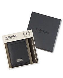 Kenneth Cole Reaction Men's Leather Nappa Front-Pocket RFID Wallet