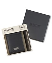 13b7ebe505 Kenneth Cole Reaction Men's Leather Nappa Front-Pocket RFID Wallet