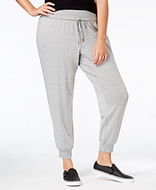 Ideology Plus Size Jogger Pants, Created for Macy's