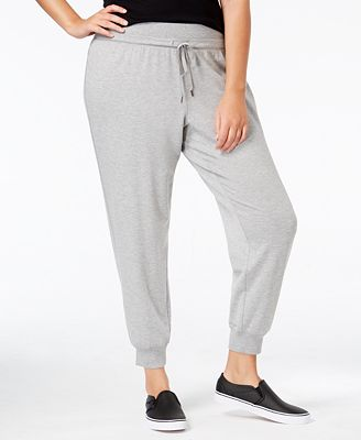 Ideology Plus Size Jogger Pants, Created for Macy's - Pants ...