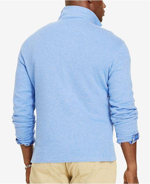 8214b8aaf Polo Ralph Lauren Big   Tall Men s Estate Rib Half-Zip Sweater ...