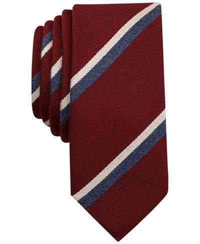 Original Penguin Men's Blob Stripe Slim Tie