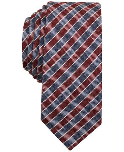 Original Penguin Men's Vickers Plaid Slim Tie