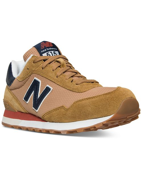 51eee0271ec5 New Balance Men's 515 Suede Casual Sneakers from Finish Line ...
