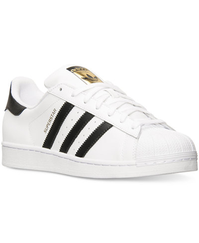 adidas Mens Superstar Casual Sneakers from Finish Line