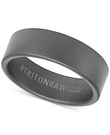 Triton Pure Raw Men's Band in Tungsten