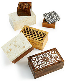Global Goods Partners Decorative Box Collection