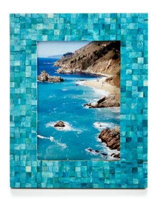 Mosaic Teal Frame
