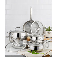 Belgique Stainless Steel 11-Piece Cookware Set