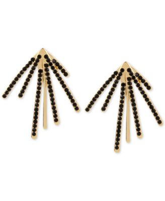 Image of M. Haskell for INC International Concepts Pavé Fan Burst Earrings, Only at Macy's