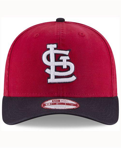 newest e3634 b7b20 ... New Era St. Louis Cardinals Vintage Washed 9FIFTY Snapback Cap ...