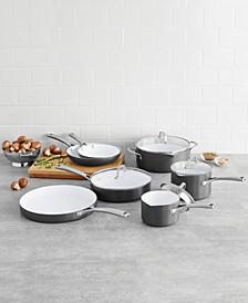 Classic Ceramic 11-Pc. Cookware Set