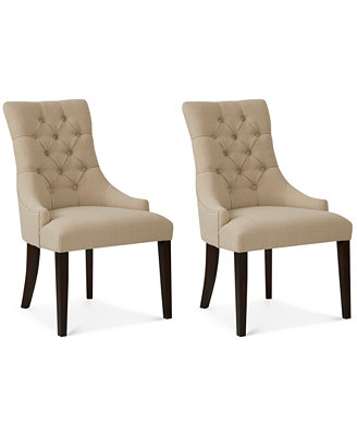 Darden Set of 2 Dining Chairs Direct Ship Furniture