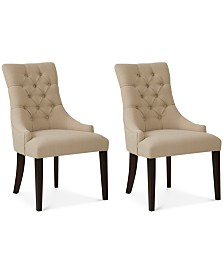 Fabric Dining Room Chairs - Macy\'s