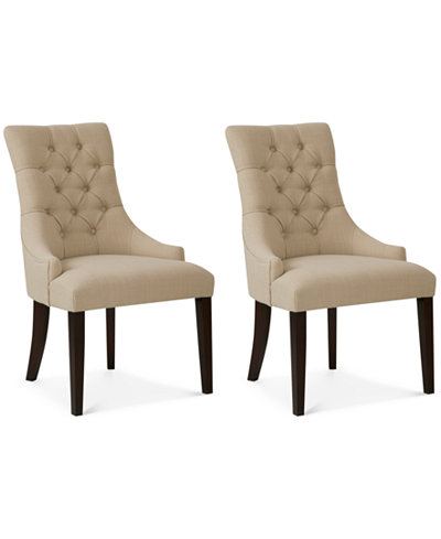 Darden Set of 2 Dining Chairs, Quick Ship