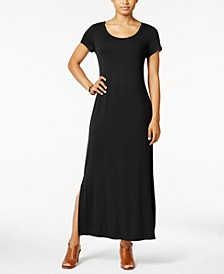 Petite Scoop-Neck Maxi Dress, Created for Macy's