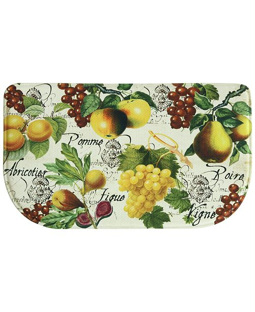 "Bacova Botanical Fruit 18"" x 30"" Memory Foam Rug"