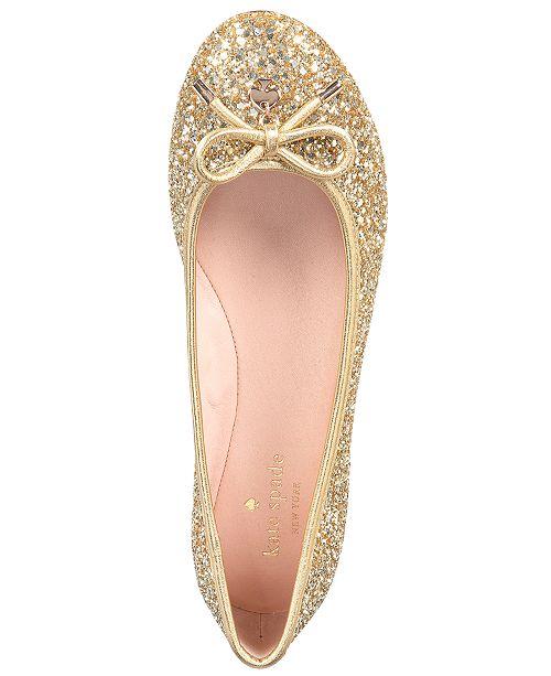 4e544b456b kate spade new york Willa Ballet Flats & Reviews - Flats - Shoes - Macy's