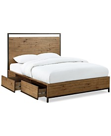 Gatlin Storage Queen Platform Bed, Created for Macy's
