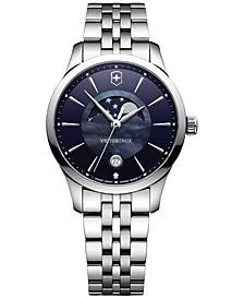 Women's Swiss Alliance Diamond Accent Stainless Steel Bracelet Watch 35mm 241752