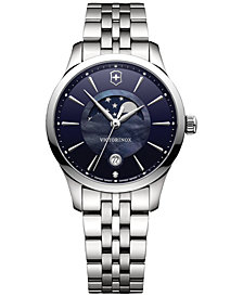 Victorinox Swiss Army Women's Swiss Alliance Diamond Accent Stainless Steel Bracelet Watch 35mm 241752