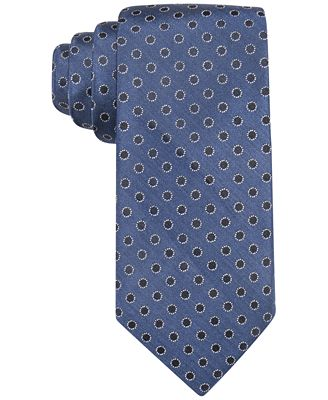 Ryan Seacrest Distinction™ Men's Brentwood Dot Stretch Comfort Slim Tie, Only at Macy's